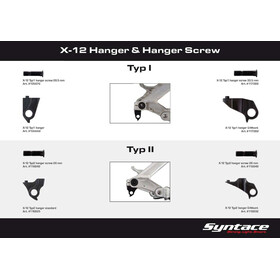 Syntace X-12 Typ 1 Direct Mount black